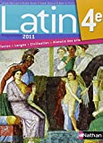 Latin 4e : Manuel de l'élève, programme 2011