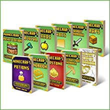 Minecraft: Box Set: Minecraft Potions - Minecraft Redstone - Minecraft Secrets - Minecraft Handbook - Minecraft Construction Handbook - Minecraft Pocket Edition - Minecraft Traps - Minecraft Mods Audiobook by Michael Marlon Narrated by Nathan W Wood