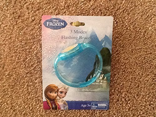 Disney Frozen Flashing Bracelet Blue 3 Modes