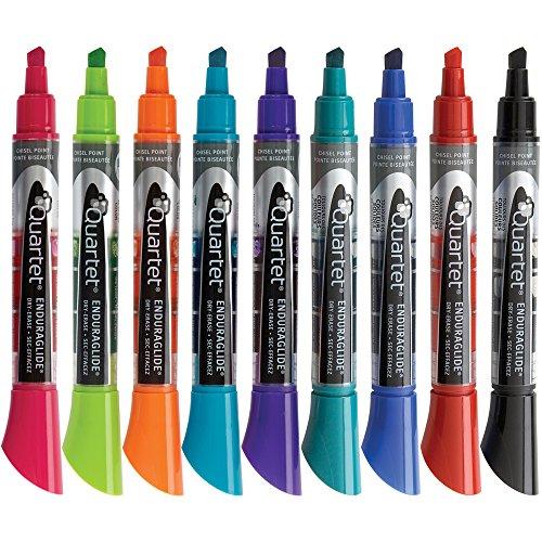 quartet-dry-erase-markers-chisel-tip-assorted-enduraglide-12-pack-5001-20ma