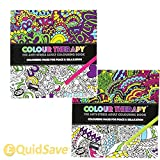 120 Page Adult Colouring Book Anti Stress Art Therapy Positive Zen Soothing Calm by PMS®