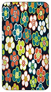 Timpax Protective Hard Back Case Cover Full access to all features. ports of the device including microphone, speaker, camera and all buttons. Printed Design : Flowers at the park.100% Compatible with Apple iPhone-6-PLUS