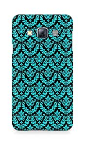 Amez designer printed 3d premium high quality back case cover for Samsung Galaxy A3 (pattern blue black )