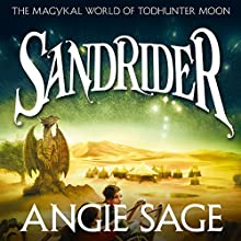 Sandrider Audiobook by Angie Sage Narrated by Nicola Barber