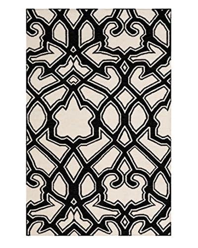 Surya Florence Broadhurst Paddington Rug, Charcoal, 5' x 8'