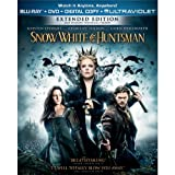 Snow White and the Huntsman 3 DISC LIMTED EDITION Blu-ray / DVD / Digital Copy / Ultraviolet / BONUS DVD Disc With Behind the Scenes Content