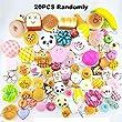 Random 20pcs Jumbo Medium Mini Soft Squishy Cake/Panda/Bread/Buns Phone Straps from LH