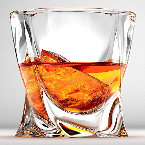 Ashcroft Twist Whiskey Glass, Set Of 2 (Crystal Bourbon Glasses compare prices)