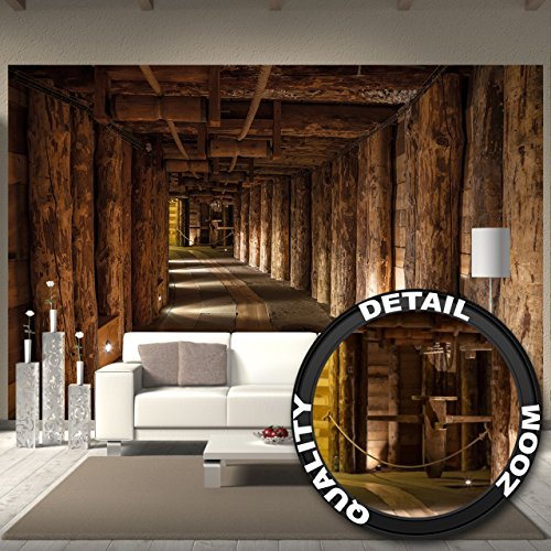 fototapete salzbergwerk wieliczka wand dekoration wandbild salzmine poster motiv by great art. Black Bedroom Furniture Sets. Home Design Ideas