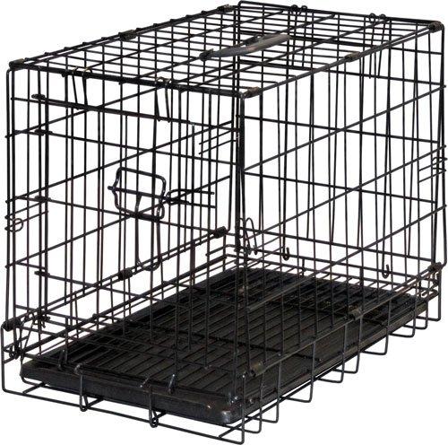"15.5""H Folding Steel Pet Kennel front-757145"