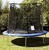 JumpKing Trampoline and Safety Net Enclosure Combo (8')