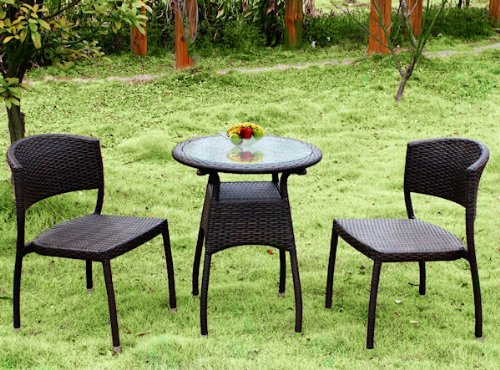 3tlg poly rattan gartenm bel set bistro set gm3 poly. Black Bedroom Furniture Sets. Home Design Ideas