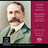 イギリス作曲家の管弦楽曲集 (Elgar : Engima Variations | Vaughan Williams : The Wasps , Greensleeves / Michael Stern , Kansas City Symphony) [SACD Hybrid] [輸入盤]