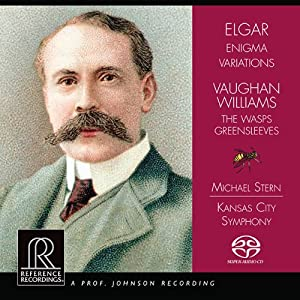 Elgar: Enigma Variations [Micheal Stern] [Reference Recordings: RR-129SACD]