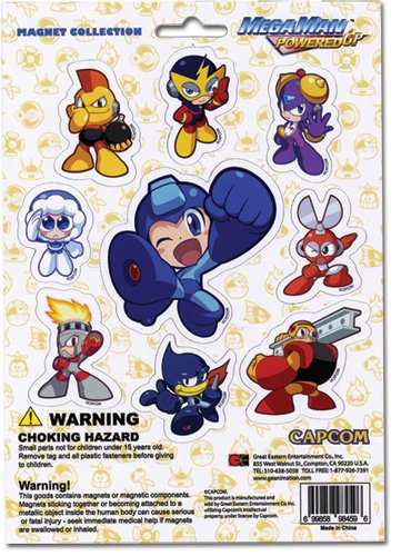 Megaman Powered Up Magnet Collection - 1