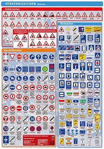 Lernposter Verkehrszeichen: Die Verkehrszeichen in ...