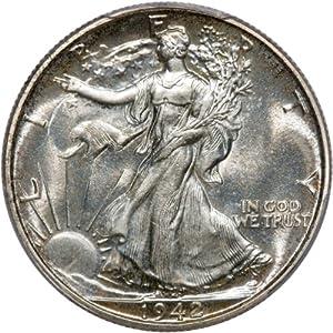 1942 50C PCGS PR67 Walking Liberty Half Dollar Proof