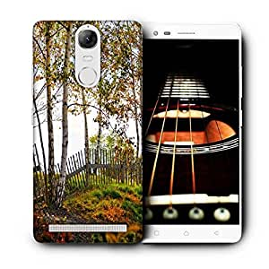 Snoogg Sunshine Forest Printed Protective Phone Back Case Cover For Lenovo K5 Note