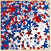 Beistle CN135 Stars Confetti RedWhiteBlue