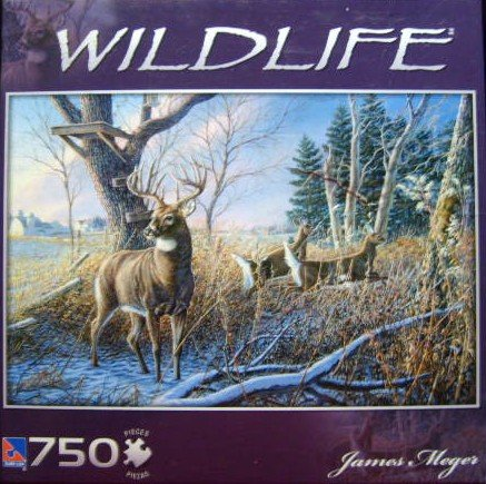 Shoulda Been There 750 Piece Puzzle Wildlife Series by James Meger - 1