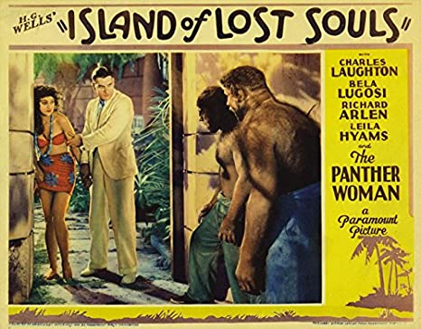 "Island of Lost Souls Movie Poster Replica 11 X 14"" Photo Print"
