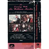 An Evening with Sir William Martin [Vhs Tape] Michael Nesmith ~ vista Video