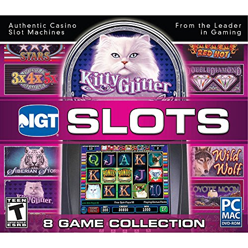 IGT Slots Kitty Glitter 8 Game Collection (Casino Slot Machine Games For Pc compare prices)