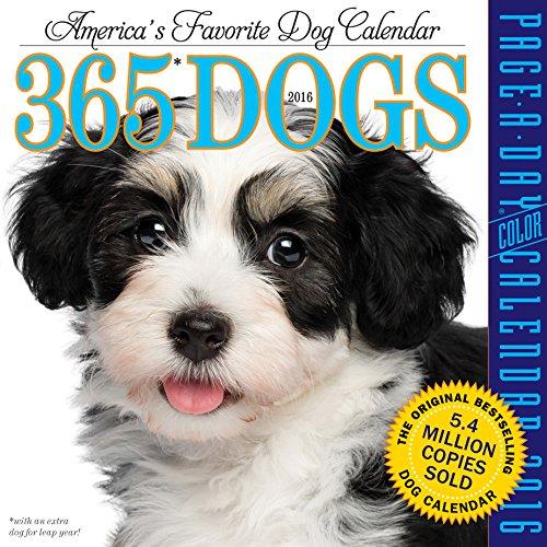 365 Dogs (2016 Calendar)