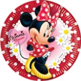 10ct Minnie Mouse Polka Dot 9in Paper Plates