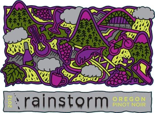 2012 Rainstorm Oregon Pinot Noir 750 Ml