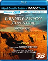 IMAX: Grand Canyon Adventure: River at Risk [Blu-ray 3D] from IMAGE ENTERTAINMENT