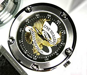 Harley Davidson 76a136 Mens Pocket Pocket Watch