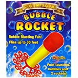 Bubble Rocket with Stomp Pad Launcher
