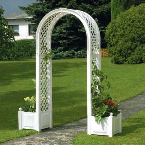rosenbogen mit 2 k sten wei preisvergleich g nstig kaufen bei. Black Bedroom Furniture Sets. Home Design Ideas