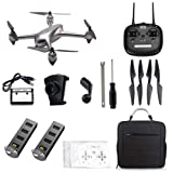 ElementDigital MJX Bugs 2 SE GPS Drone App Operation iOS Android FPV Drone Kit 1080P Camera Record Video 1-Key RTH Altitude Hold Track Flight Headless Brushless Motor, Bonus Battery, Built-in Camera (Color: Mjx B2se + Backpack)