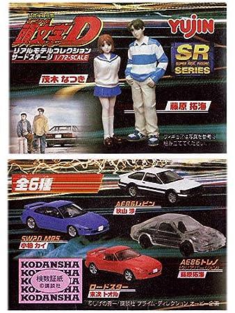 SRシリーズ 頭文字D(イニシャルD)リアルモデルコレクション サードステージ 全6種セット