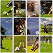 Greetingles Pack of 12 Birthday Greeting Cards for Men. Sports, Fishing, Cricket, Football, Etc