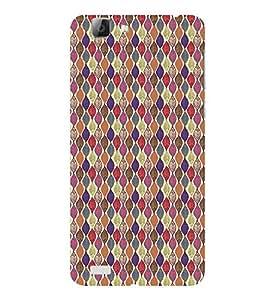 ifasho Designer Phone Back Case Cover Vivo V1 ( Hindu God Balaji Tirumala Temple )