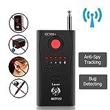 Anti-Spy Hidden Camera Detector RF Signal Detector GSM Device Finder, CC308ï¼?JunChen Wireless Camera Lens Detector Radio Wave Signal Detect Min