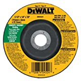 DEWALT DW4524 4-1/2-Inch by 1/4-Inch by 7/8-Inch Concrete/Masonry Grinding Wheel