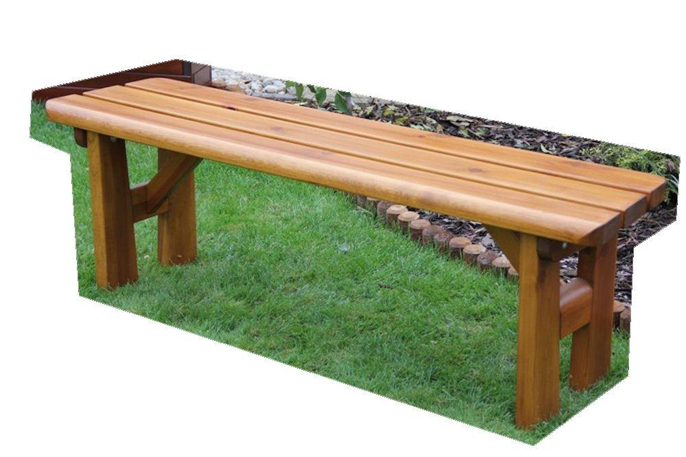 "Massivholz Gartenbank ""Findland"" , Kiefer , unbehandelt , B 151 cm , Holzstärke : günstig bestellen"