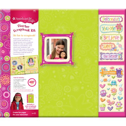 American Girl Crafts Learn to Scrapbook Kit Amazon.com