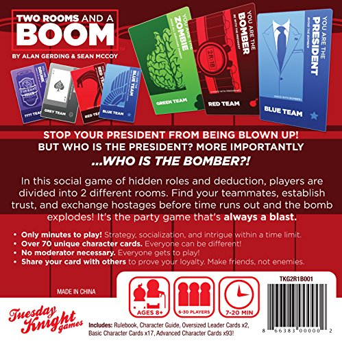 How To Make Two Rooms And A Boom Cards