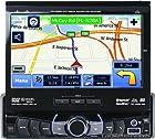 Dual XDVDN9131 4 x 50-Watt AM/FM/DVD with 7-Inch Touchscreen LCD/USB/SD/BT/NAV/iPod Multimedia Receiver (Black)