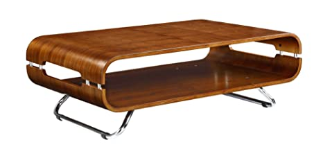 Curve Coffee Table in Walnut