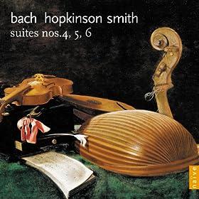 Suite n�6 in D major BWV 1012: VI.Gigue