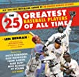 The 25 Greatest Baseball Players of All Time