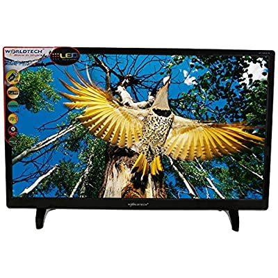 WORLDTECH WT-2455 24 inches Full HD Super Slim LED TV (Black)