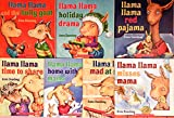 img - for Llama Llama COMPLETE 7 Book Set Pack Collection with STICKER: Llama Llama and the Bully Goat, Holiday Drama, Red Pajama, Time to Share, Home with Mama, Mad at Mama, Misses Mama book / textbook / text book
