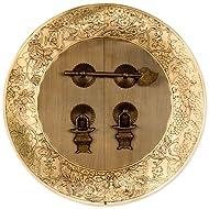 Flower Vine Cabinet Face Plate 9.5''
